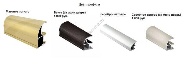 """Радиусный асимметричный шкаф-купе """"Радион"""" (левый и правый)"""