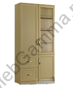 Шкаф книжный Букинист-24