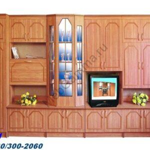 Стенка мебельная Мария-1 МДФ