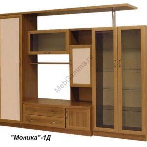 """Стенка мебельная """"Моника-1""""(рамка МДФ)"""