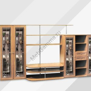 Стенка мебельная Ноктюрн-6 (витражи)