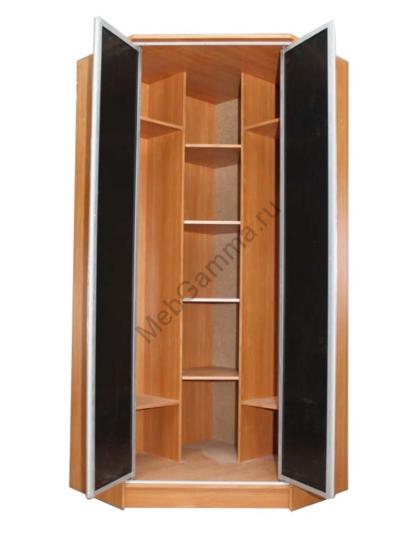 Шкаф распашной угловой Версаль 2-ух дверный