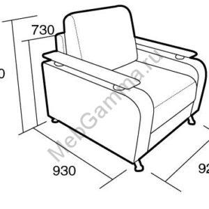 Кресло для отдыха Риетти