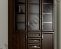 Шкаф Книжный №8.1b 3-х ств.