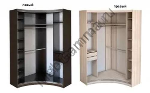 Радиусный шкаф-купе Радион-5
