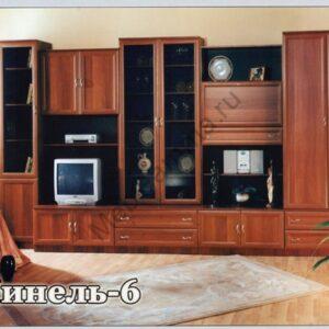 Стенка мебельная Нинель-6