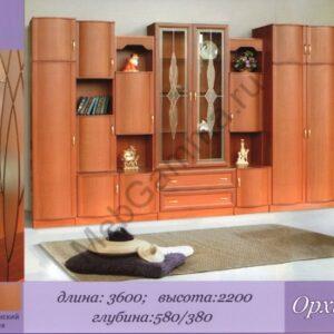 """Стенка мебельная """"Орхидея-4"""""""