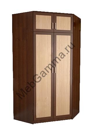 Угловой шкаф с антресолью № 29
