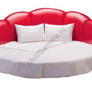 Круглая кровать Минерва-л106