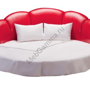 Круглая кровать Минерва